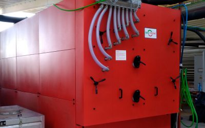 INSTALLATION OF BIOMASS BOILER IN THE PILOT PLANT